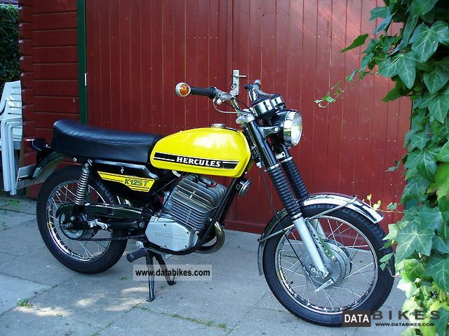 Hercules  K 125 T 1973 Vintage, Classic and Old Bikes photo