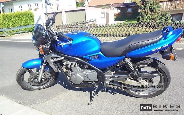 2002 Kawasaki  5-ER Motorcycle Naked Bike photo