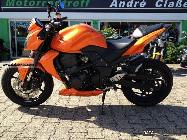 2008 Kawasaki Z750 ABS Motorcycle Sports Super Bike Photo