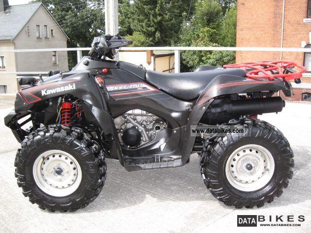 2009 Kawasaki Kvf 750 Deals For Hobbyists Mit Video