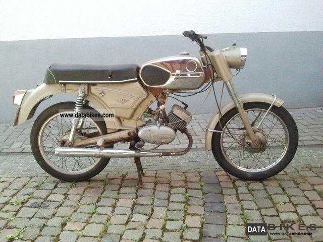 Zundapp  Zündapp C 50 1971 Vintage, Classic and Old Bikes photo