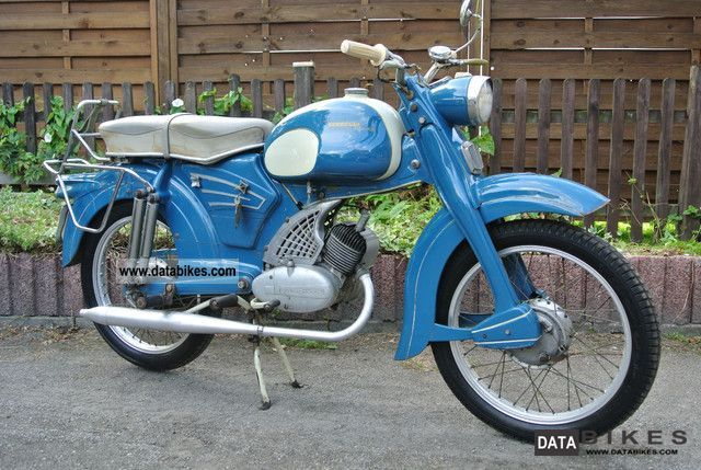 Zundapp  Zündapp Sports Combinette KS 50 in original paint from 2.Hd C50 1961 Vintage, Classic and Old Bikes photo