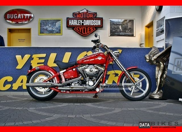 Harley Davidson  Softail Rocker C FXCWC Scarlet Red with ABS 2012 Chopper/Cruiser photo