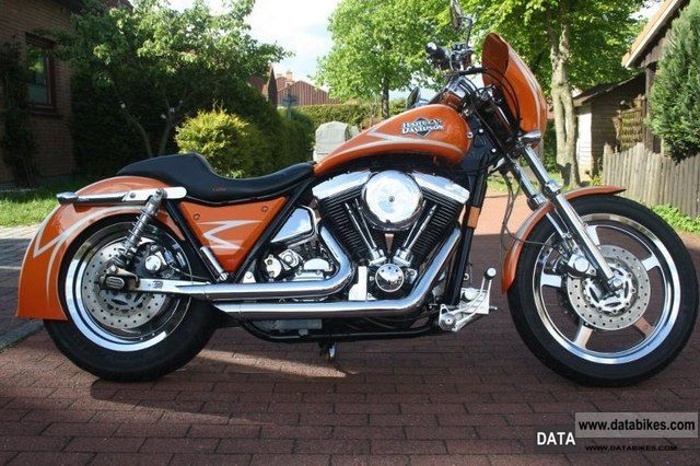 2009 Harley Davidson  Custom FXR Motorcycle Chopper/Cruiser photo