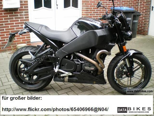 2010 Buell  xb1200 black edition Motorcycle Naked Bike photo