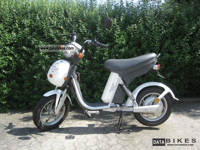 Sachs  Prima E / F 42km / h LiFeP4 (20AH) white 2010 Electric Motorcycles photo