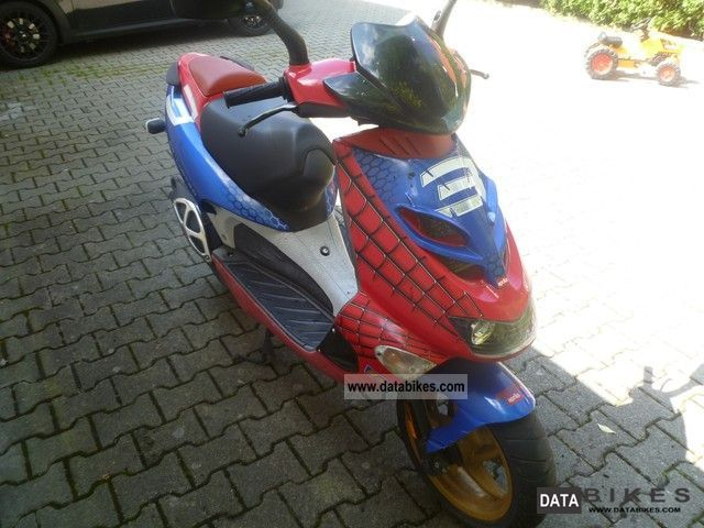 2003 Aprilia  SE 50 LC Racing (Spider Man) Motorcycle Scooter photo