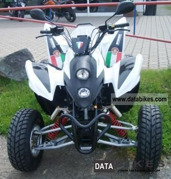 2012 Aeon  Bistrada 350 Supermoto Motorcycle Quad photo