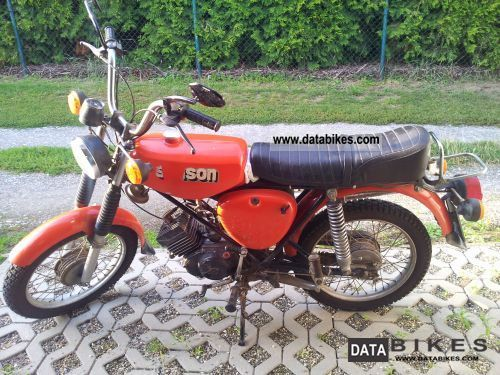 Simson  Enduro S 70 1900 Vintage, Classic and Old Bikes photo