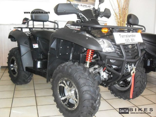 2012 Explorer  Terra Lander 625 EFI 4x4 LOF * Shaft Drive * Motorcycle Quad photo