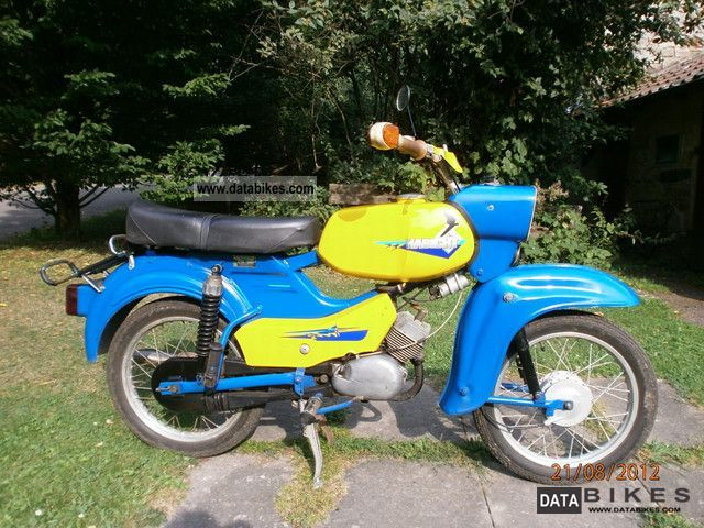 1968 Simson  Hawk Motorcycle Motor-assisted Bicycle/Small Moped photo