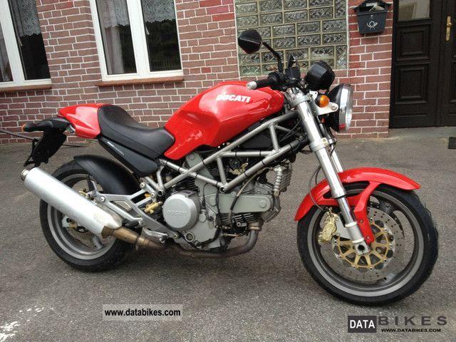 2005 Ducati  Monster M 800 Motorcycle Motorcycle photo