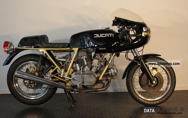 Ducati  900 SS 1982 Motorcycle photo
