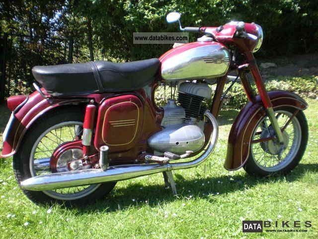 Jawa  250 1968 Vintage, Classic and Old Bikes photo