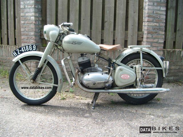 Jawa  Ogar 350 1950 Vintage, Classic and Old Bikes photo