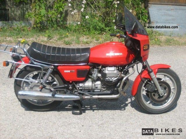 1980 Moto Guzzi  SP 1000 Motorcycle Motorcycle photo