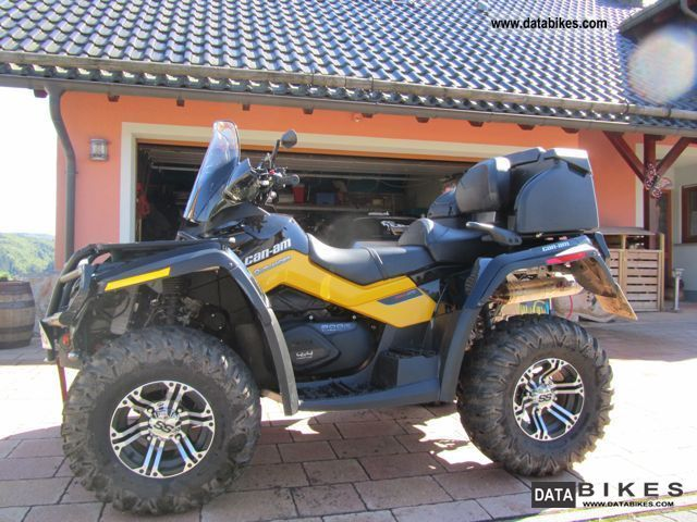 2011 Can Am  Outlander 800 Max XT Motorcycle Quad photo