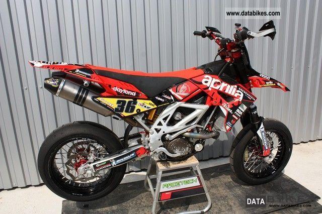 2011 Aprilia  SM MXV 450 Replica Motorcycle Super Moto photo