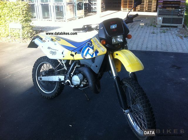 2000 Husqvarna  wre 125 Motorcycle Enduro/Touring Enduro photo