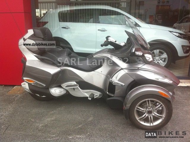 2012 Can Am  RT-S SE5 Limited 990 MAGNESIUM Motorcycle Sport Touring Motorcycles photo