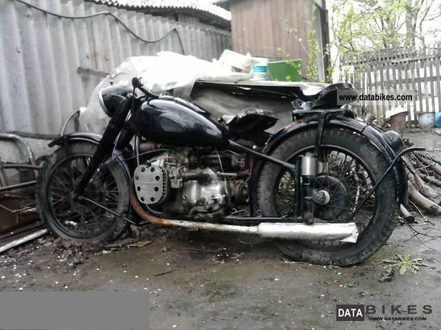 Ural  M 72 1941 Vintage, Classic and Old Bikes photo