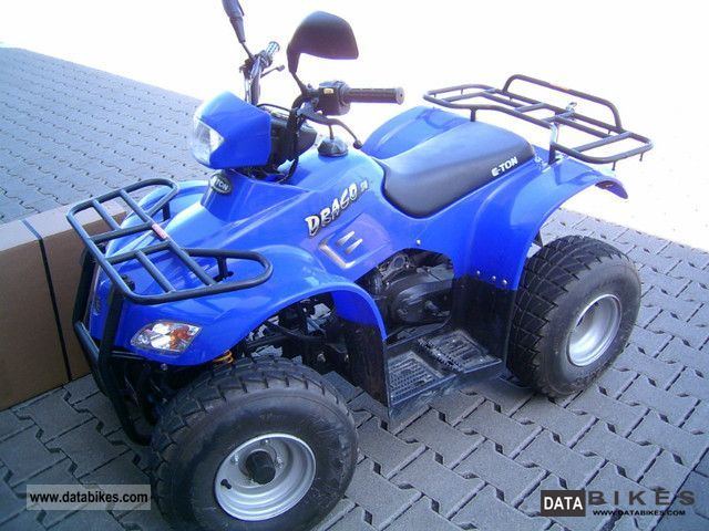 2004 E-Ton  BXL-50 Draco inkl.Versicherung Motorcycle Quad photo