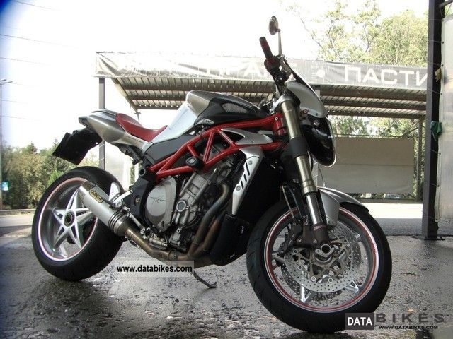 2008 MV Agusta  BRUTAL Motorcycle Naked Bike photo