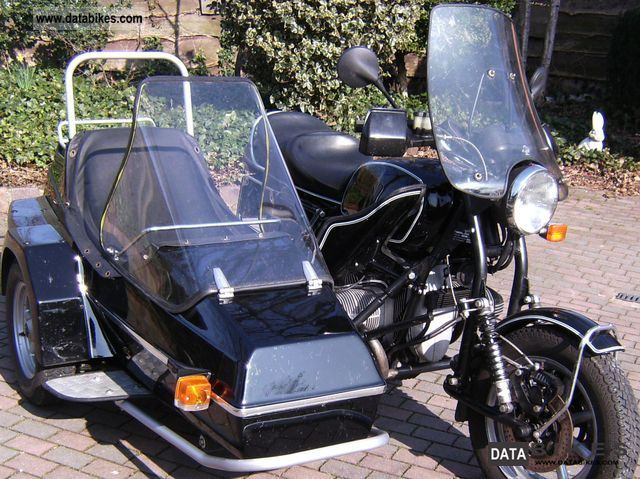 1982 BMW  EML Motorcycle Combination/Sidecar photo