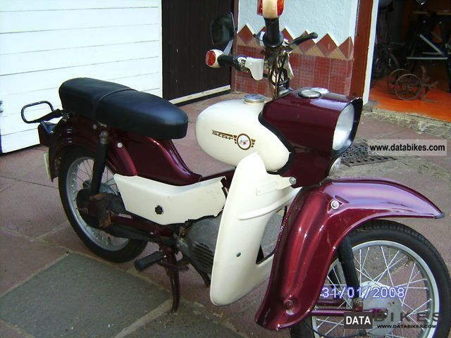 Simson  Star SR 4-2 1968 Vintage, Classic and Old Bikes photo