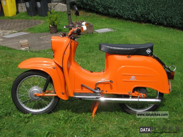 Simson  KR 51 1 / k 1976 Vintage, Classic and Old Bikes photo