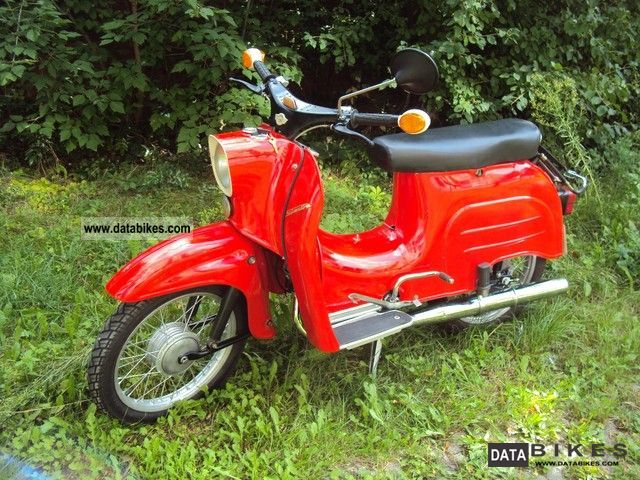 Simson  KR51 / 1 mint 1976 Vintage, Classic and Old Bikes photo