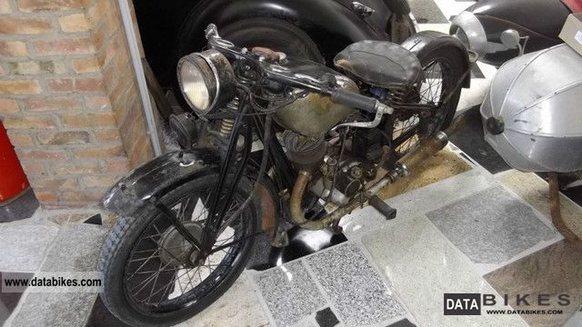 DKW  Block 200 1930 Vintage, Classic and Old Bikes photo