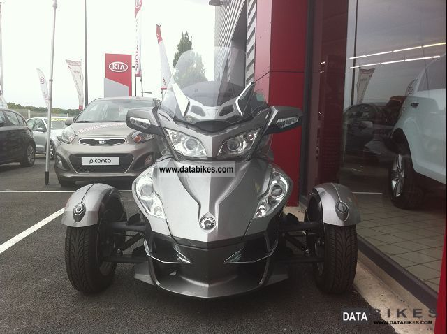 2012 Can Am  SPYDER RT-S SE5 990 MAGNESIUM Motorcycle Other photo