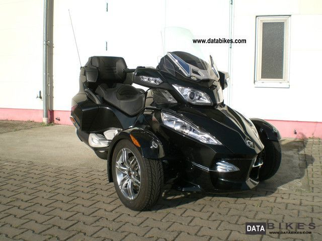 2012 Can Am  Spyder RT SE5 Motorcycle Trike photo