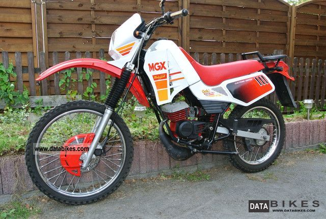 1995 Malaguti  MGX 50 Gold Cross 50cc Ronco Cavalcone Motorcycle Motor-assisted Bicycle/Small Moped photo