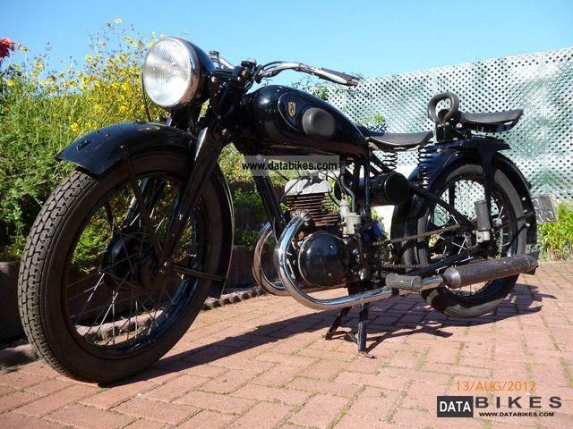 Zundapp  Zündapp DB 200 classic cars 1938 Vintage, Classic and Old Bikes photo