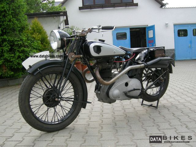 NSU  OSL 501 1937 Vintage, Classic and Old Bikes photo