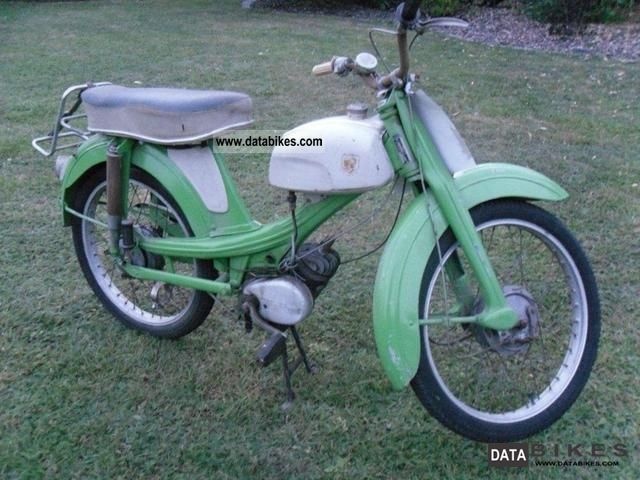 NSU  Quickly F 23 1965 Vintage, Classic and Old Bikes photo