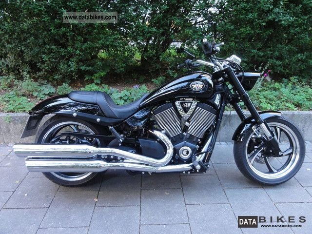 2010 VICTORY  Hammer 8-Eight-Ball Custom / Conversion Stage 1 Kit Motorcycle Chopper/Cruiser photo