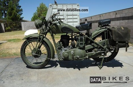 BSA  1944 M-20 military team no 1944 Vintage, Classic and Old Bikes photo