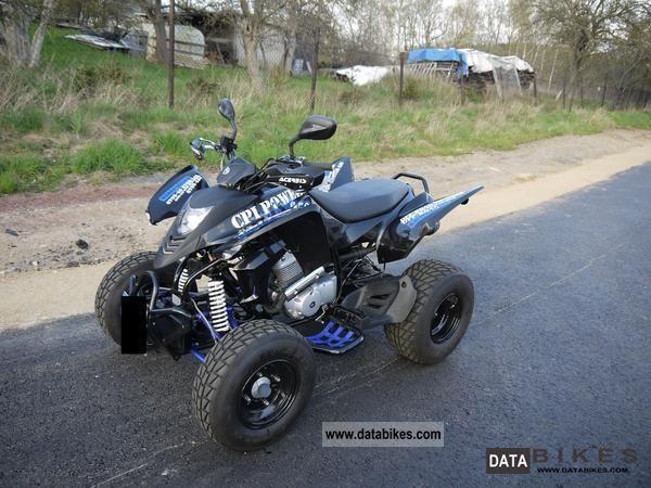 2009 CPI  250 Motorcycle Quad photo
