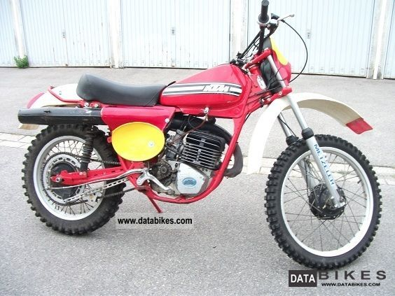 1975 KTM  125 GS / 6 Motorcycle Rally/Cross photo