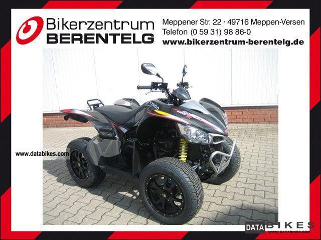 2012 Kymco  Maxxer 450 i 4x4 On Road Motorcycle Quad photo