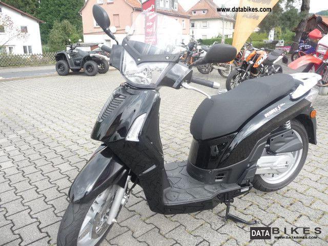 Kymco  eople S 50 new condition only 1566km 1-Hand 2011 Scooter photo