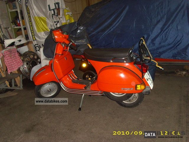 1980 Vespa  P125X Motorcycle Motor-assisted Bicycle/Small Moped photo