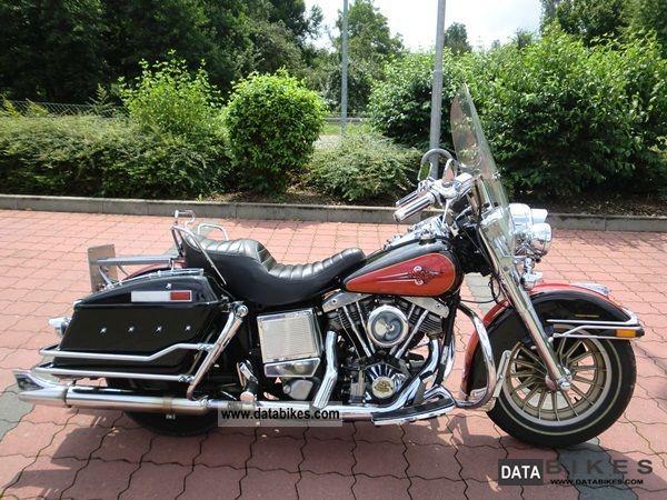 1990 Harley Davidson  FLH (Electra Glide) Motorcycle Motorcycle photo
