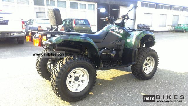 2011 CFMOTO  Atlas 500 4x4L, AHK, Seilw, LOF, slide, like new! Motorcycle Quad photo