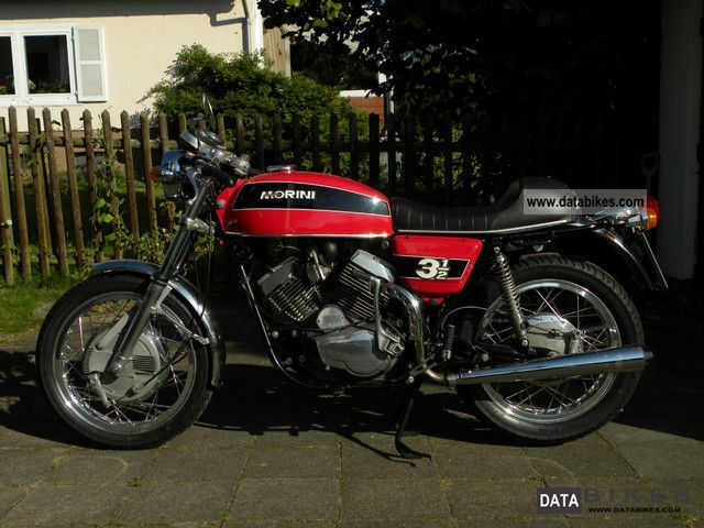 Moto Morini  3 1/2 1975 Vintage, Classic and Old Bikes photo