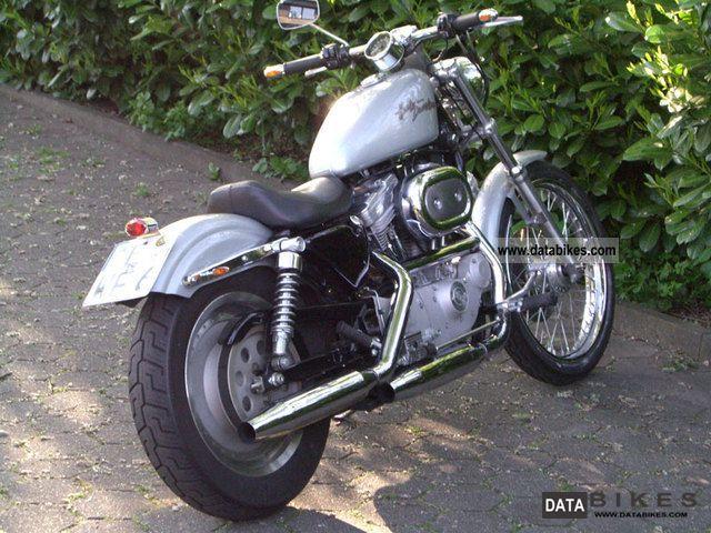 2001 Harley Davidson  Sportster XL 883 Motorcycle Chopper/Cruiser photo