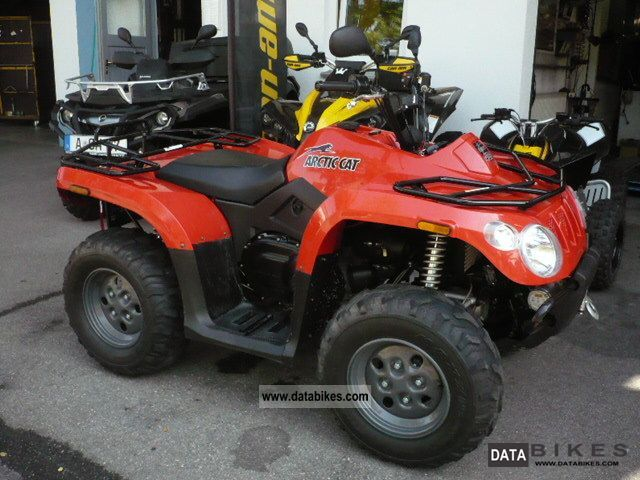 2010 Arctic Cat 400 4x4 / Used Motorcycle Quad photo